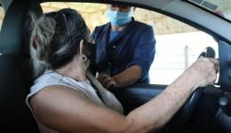Saúde fará drive-thru no final de semana para vacinar pessoas com 58 anos ou mais