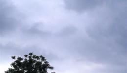 Tempo firme pode dar lugar a chuva e ventos fortes no fim de semana
