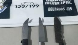 Assaltante é preso pela Guarda Municipal ao tentar roubar motorista de aplicativo com faca