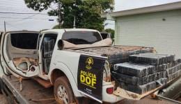 Camionete com mais de uma tonelada de maconha foi apreendida pelo DOF em Eldorado durante  Operação