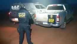 Caminhonete roubada em Brasília é recuperada pelo DOF