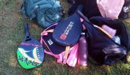 De jogo de Beach Tennis para delegacia