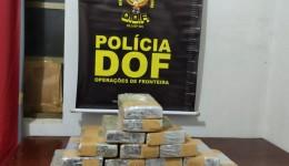 DOF apreende 16 quilos de cocaína em Mundo Novo