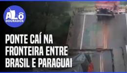Dois morrem e três ficam feridos em queda de ponte entre MS e Paraguai