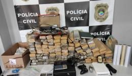 Polícias civis preendem mais de 100kg de maconha em investigação contra o tráfico de drogas em Bonito