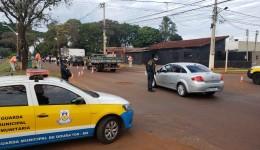 Guarda Municipal segue com blitz e orientações sobre as medidas de biossegurança