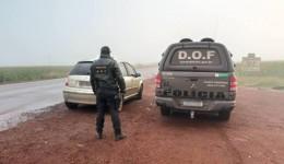 Homem foi preso pelo DOF com 70 quilos de maconha