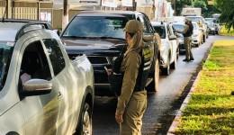 Nos primeiros 10 dias de lockdown Agetran abordou 1,9 mil veículos