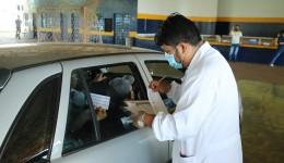 Pessoas com 55 anos ou mais podem vacinar amanhã no drive-thru no Jorjão