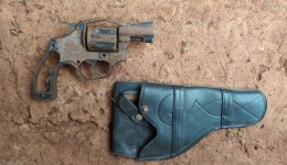 Revólver é apreendido em Dourados pela Guarda Municipal