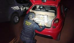 Veículo com mais de 380 quilos de maconha foi apreendido pelo DOF durante  Operação