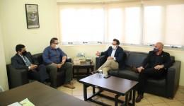 Prefeito Alan Guedes recebe Conselheiro Federal da OAB