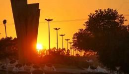 Ar seco e quente pode marcar o sábado em Mato Grosso do Sul