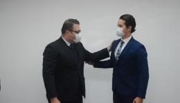 Delegado da PF, Alexander Taketomi Ferreira toma posse como Chefe da Delegacia