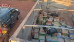 DOF apreende carreta com 3 toneladas de maconha em operação