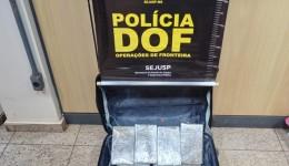 Mulher que seguia para Amapá com quase três quilos de haxixe é presa pelo DOF