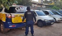 Quatro foragidos da justiça são presos pela GMD neste final de semana