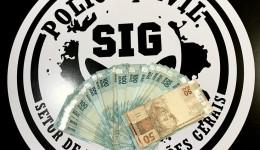 Polícia Civil esclarece roubo, recupera R$ 3 mil e indicia funcionário por falsa comunicação e crime contra o patrimônio