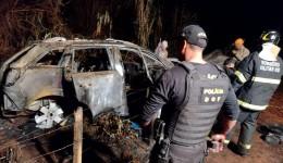 Veículo com mais de 800 quilos de maconha foi recuperado pelo DOF durante  Operação