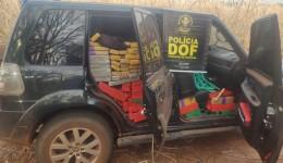 Veículo com mais de uma tonelada de maconha foi apreendido pelo DOF durante  Operação