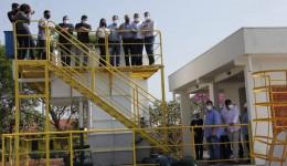 Obra de saneamento é entregue em Corumbá