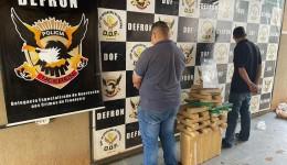 Dois homens são presos em depósito de drogas em Dourados