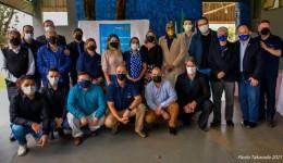 Cinco novos integrantes são empossados no Rotary Água Boa