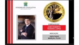 Advogado Douradense é agraciado com medalha do Mérito Advocatício pela ALMS