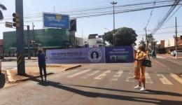Agosto Lilás, em ato realizado no centro de Dourados, Prefeitura ressalta a importância do combate a violência doméstica
