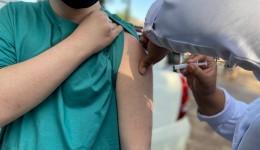 Dourados tem 90% da população adulta vacinada com a primeira dose