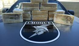 Homem de 31 anos é preso com 16 kg de cocaína