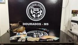 Polícia Civil fecha ponto de venda de entorpecente em Dourados