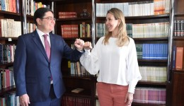 Rachel Magrini anuncia o advogado André Xavier como pré-candidato a vice em sua chapa