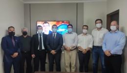 Vice da pré-candidata à presidência da OAB-MS, Rachel Magrini visita Dourados e reforça apoio a Beto Teixeira