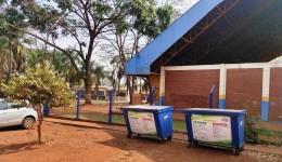 15 novas caçambas coletoras são instaladas nas aldeias de Dourados pelo IMAM