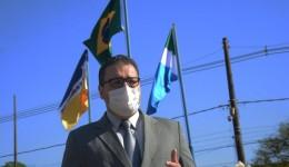 Acendimento do fogo simbólico marca Semana da Pátria em Dourados