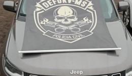 Após investigação Polícia Civil e DEFURV recuperam carro que seria levado para Bolívia