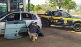 Homem é preso pela PRF com 12 kg de pasta base de cocaína