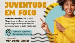 Audiencia sobre Juventude é destaque da semana na Camara de Vereadores