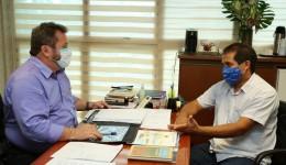 Edson Souza se reúne com presidente para discutir prioridade a demandas de bairros