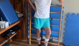 Em foto Murilo Zauith mostra estar se recuperando bem após Covid-19