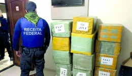Foi deflagrada pela PF e Receita Federal a operação fronteira legal