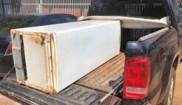 Geladeira furtada foi recuperada pela GMD após ser anunciada para venda