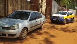 GMD recuperação carro furtado em Dourados
