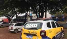 Jovem com mandado de busca e apreensão é preso pela GMD