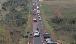 Manifestação dos Povos Indígenas bloqueia BR