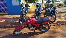 Moto furtada é recuperada próximo a escola Pedro Palhano