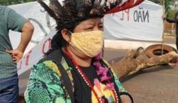 Povos indígenas das aldeias Bororó e Jaguapiru voltam a bloquear Ms-156