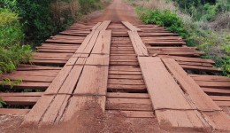 Prefeitura desenvolve projeto para instalação de ponte de concreto na 5º linha