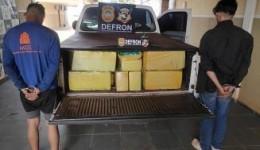 Quase 1 tonelada de drogas são apreendidas e irmãos são presos